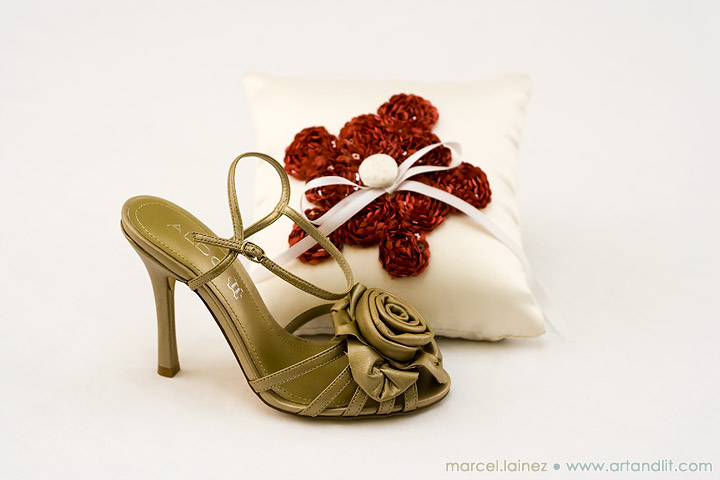 Bouquet and Shoes 09