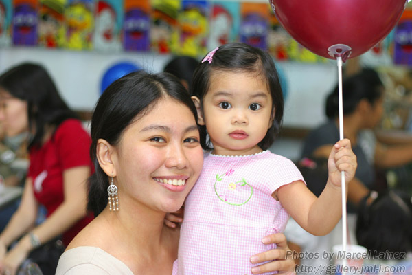 Mommy Ludy and Baby Lyka
