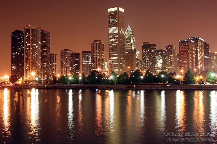 Night Lights at the Windy City